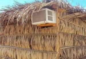 airconditioned thatch
